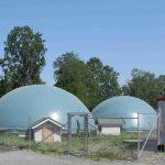 MTT:n Maaningan maatilakohtainen biokaasulaitos. Kuva: Ville Pyykkönen/MTT.