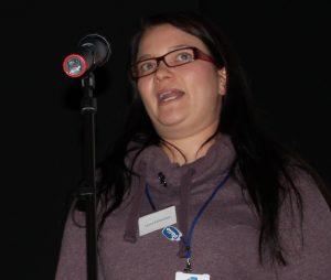 Osuuskunta ItäMaidon uusi tuotantoneuvoja Laura Parmainen esittäytyi ja kertoi ItäMaidon toiminnasta.