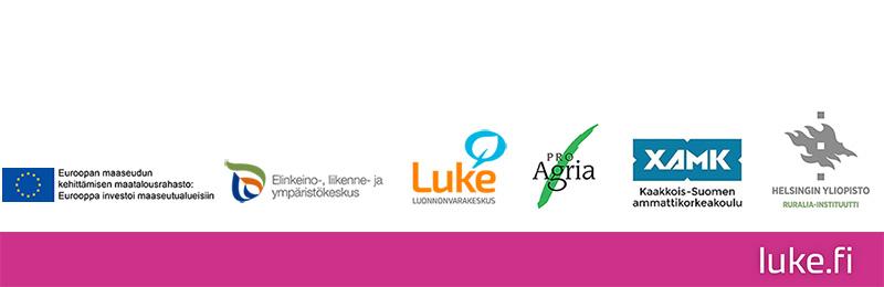 logoja toteuttajat ja rahoittajat